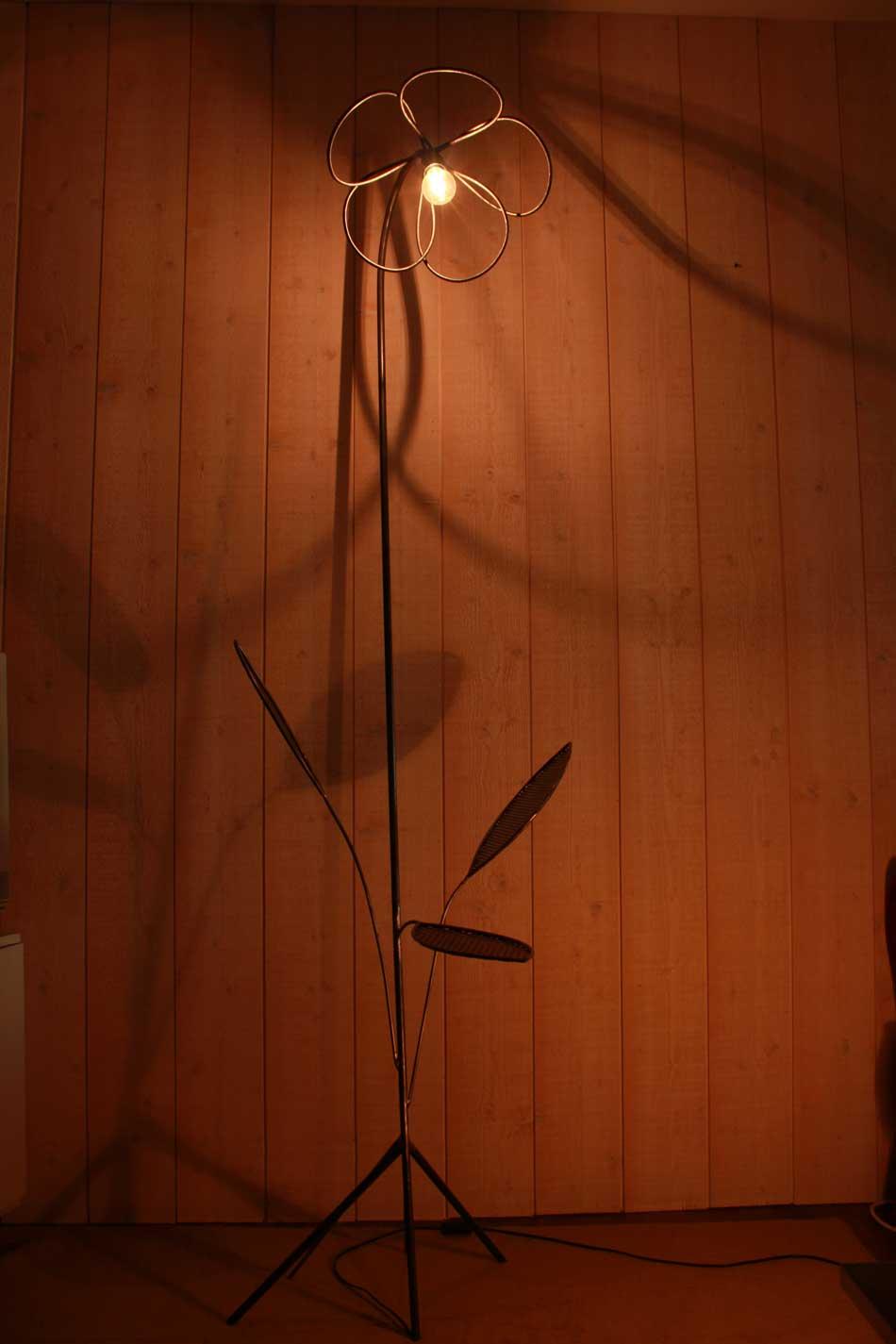 Lampes 'Fleur et pétales'