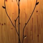 Lampe 'L'araignée sur sa branche'