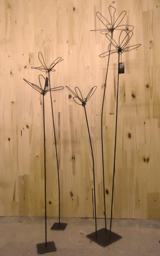 Fleurs déco épurée
